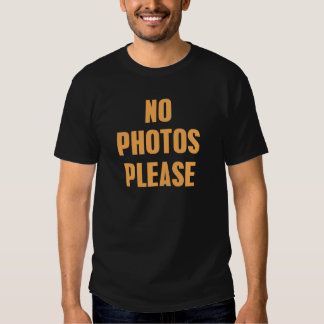 Photo ne satisfait pas tee-shirt