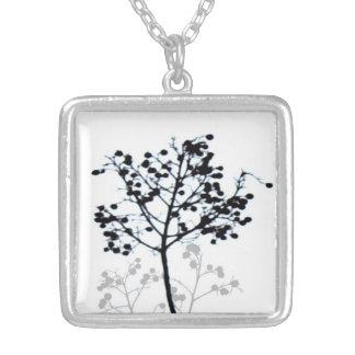 photo necklace black and white original nature art
