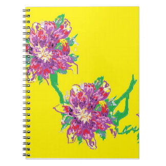 Photo Notebook (80 Pages B&W) Asiatic Lilly