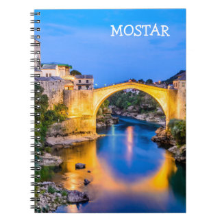 Photo Notebook (80 Pages B&W) Mostar