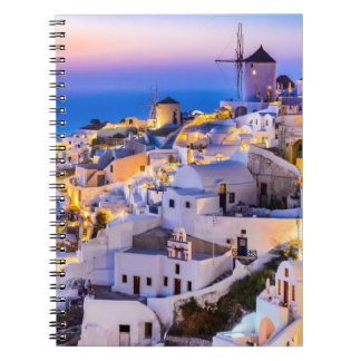Photo Notebook (80 Pages B&W) Oia Santorini