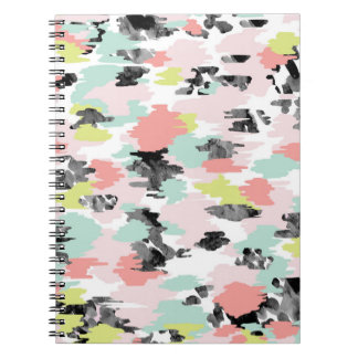 Photo Notebook/Paint Spots Spiral Note Book