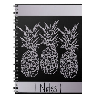 Photo notebook with spiral Pineapple Money