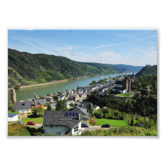 Photo Oberwesel in the central Rhine Valley