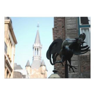 Photo of a Chicken Statue