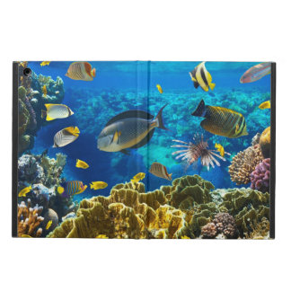 Photo of a tropical Fish on a coral reef Cover For iPad Air