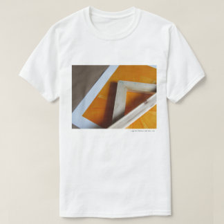 Photo of an Orange Abstract T-Shirt