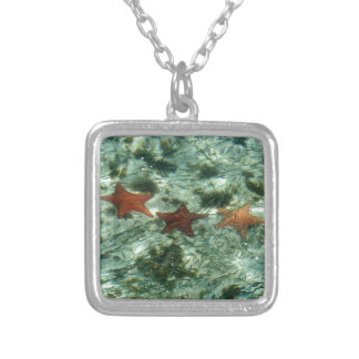 Photo of Belize Starfish Silver Plated Necklace