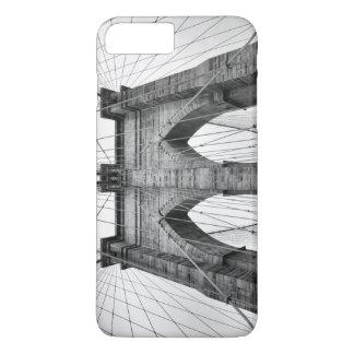 Photo Of Brooklyn Bridge In Black And White iPhone 7 Plus Case