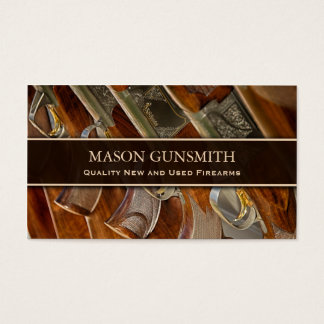 Photo of Guns - Gunsmith - Business Card