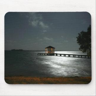 Photo of Moonlit Belize Cabana Mouse Pad