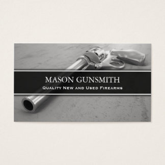 Photo of Pistol - Gunsmith - Business Card