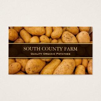 Photo of Potatoes - Potato Farm - Business Card