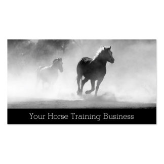 Horse trainer business cards and business card templates for Horse trainer business cards