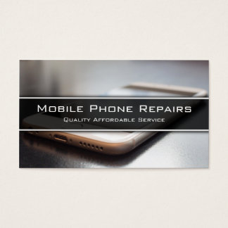 Photo of Smart Phone on Desk - Business Card