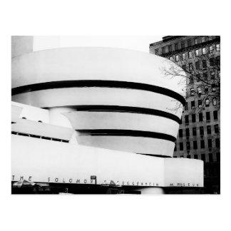 Photo of the Guggenheim Museum in New York City Postcard
