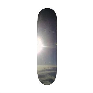 Photo of the sun custom skate board