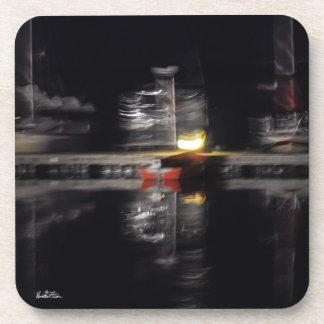 Photo passe-partout mounting abstracted, boats coaster