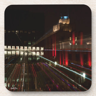 photo passe-partout mounting abstracted, building coaster
