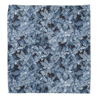 Photo pattern moss plant winter style kerchiefs