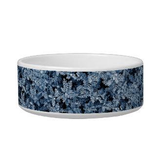 Photo pattern moss plant winter style pet water bowls