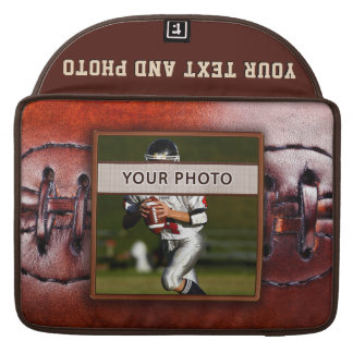 Photo Personalized Football Laptop Case Sleeves