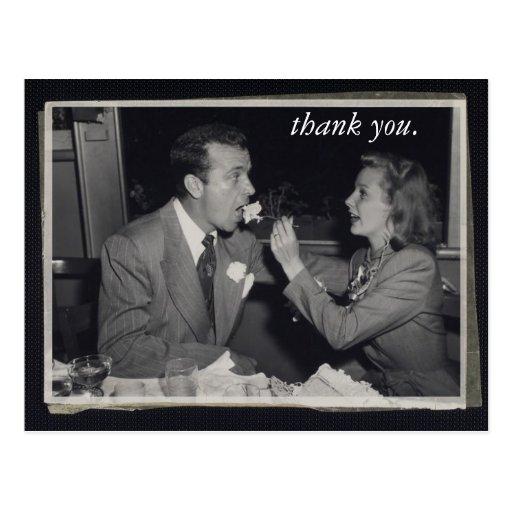 Photo personnalisable de carte de remerciements de carte postale
