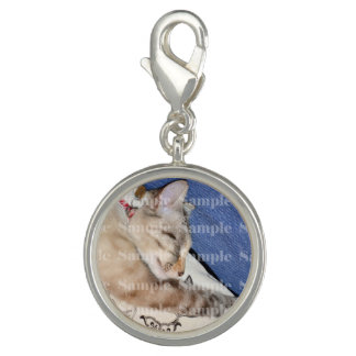 Photo pet memorial loss PERSONALIZE Photo Charms