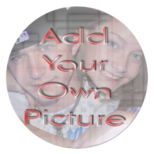Photo Plate - add your own picture & personalize