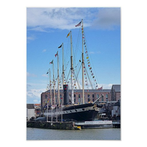 """Photo Poster """"The SS Great Britain"""", Bristol"""