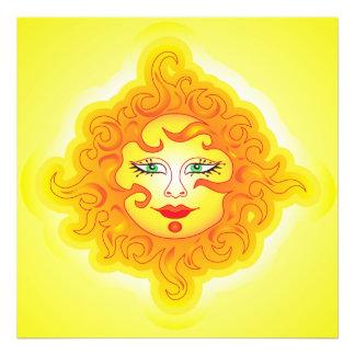 Photo print Abstract Sun