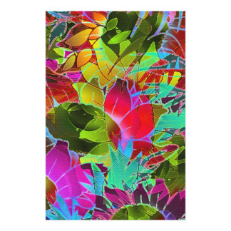 Photo Print Floral Abstract Artwork