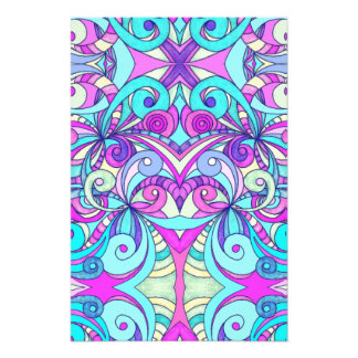 Photo print Floral abstract background