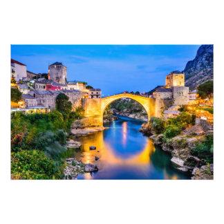 Photo print Mostar