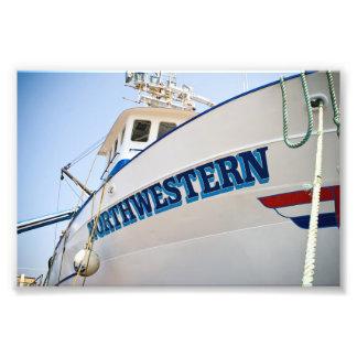 Photo Print Northwestern Lines