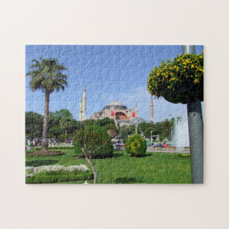 Photo Puzzle with Gift Box: Hagia Sophia, Istanbul