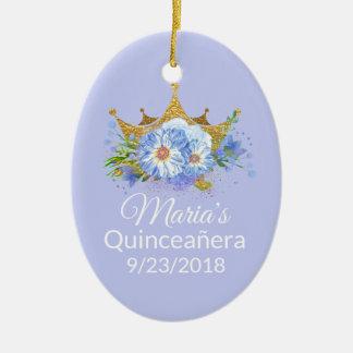 Photo Quinceañera Keepsake Ornament