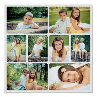 Photo Ready Collage Poster