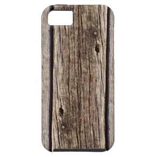 Photo Realistic Rustic, Weathered Wood Board iPhone 5 Case
