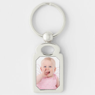 Photo Rectangle-Shaped Keychain