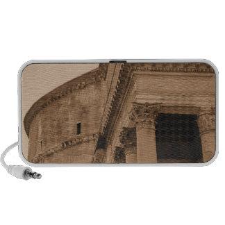 Photo romaine antique de beaux-arts de Panthéon Haut-parleur Ordinateur Portable