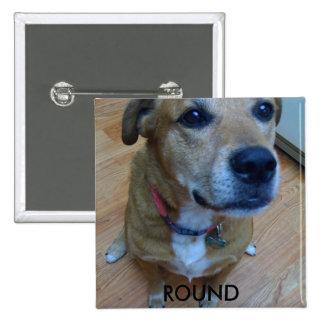photo, ROUND 2 Inch Square Button