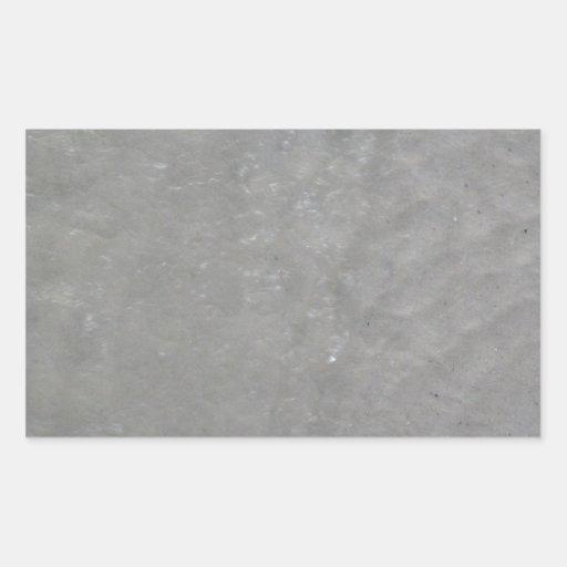 Photo sans couture d'abrégé sur l'eau autocollants en rectangle