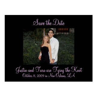 Photo Save the Date Postcard