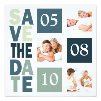Photo Save The Dates Card
