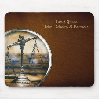 Photo Scales of Justice | Lawyer Mouse Pad