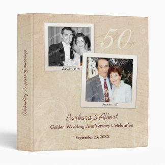 Photo Scrapbook Any Anniversary Vinyl Binders