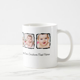 Photo Scribble Frame Personalized Unique Custom Coffee Mug