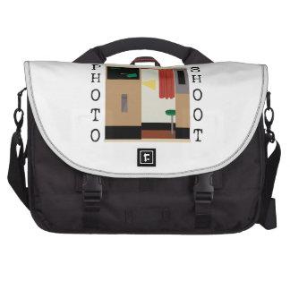 Photo Shoot Laptop Messenger Bag