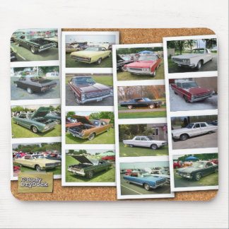 Photo Strips Mouse Pad